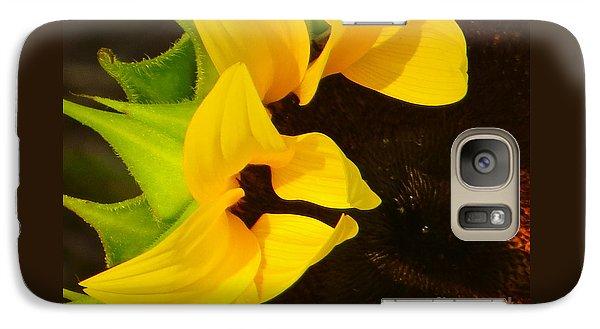 Galaxy Case featuring the photograph Sun Worshipper by Joy Hardee