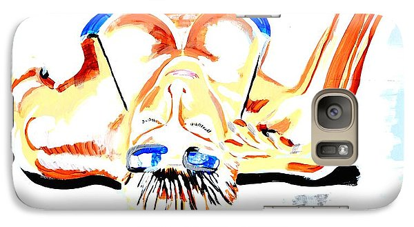Galaxy Case featuring the painting Sunbathe by J Anthony