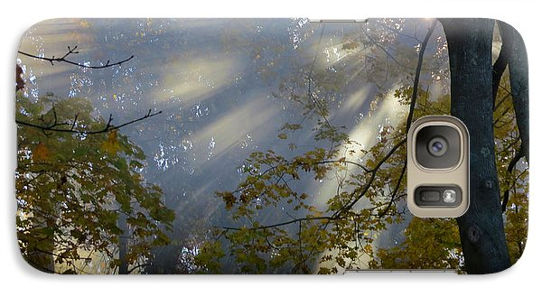 Galaxy Case featuring the photograph Sunbeam Morning by Dianne Cowen
