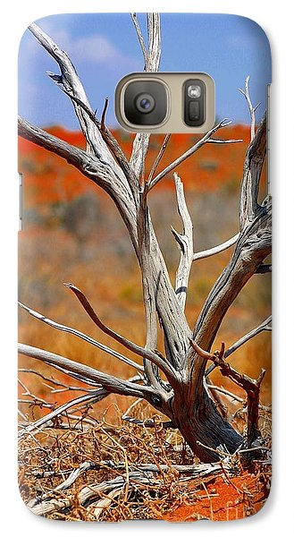 Galaxy Case featuring the photograph Sunbleached by Henry Kowalski