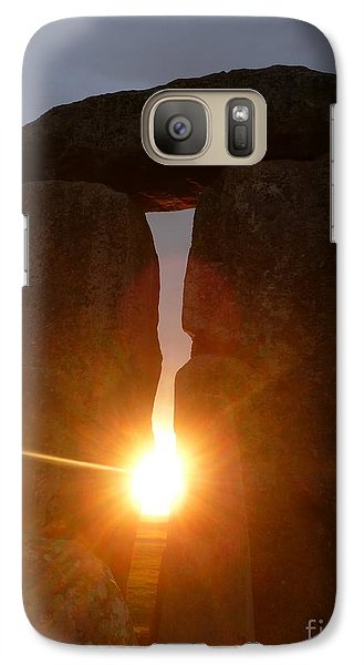 Galaxy Case featuring the photograph Sunburst by Vicki Spindler