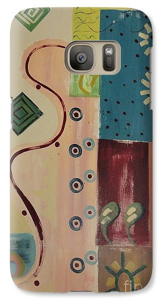 Galaxy Case featuring the painting Sundance by PainterArtist FIN