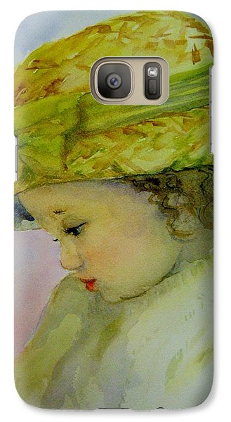 Galaxy Case featuring the painting Sunday Best by Lori Ippolito