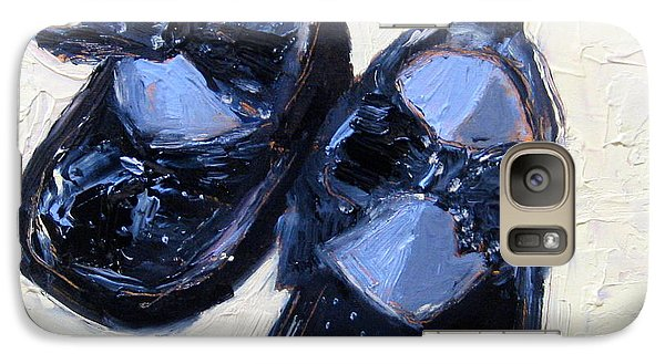 Galaxy Case featuring the painting Sunday Best by MaryAnne Ardito