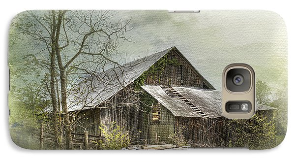 Galaxy Case featuring the photograph Sunday Drive Barn by Kathleen Holley