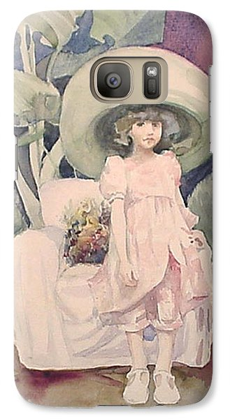 Galaxy Case featuring the painting Sunday Morning by Marina Gnetetsky