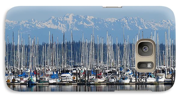 Galaxy Case featuring the photograph Sunday Morning Masts by Gayle Swigart