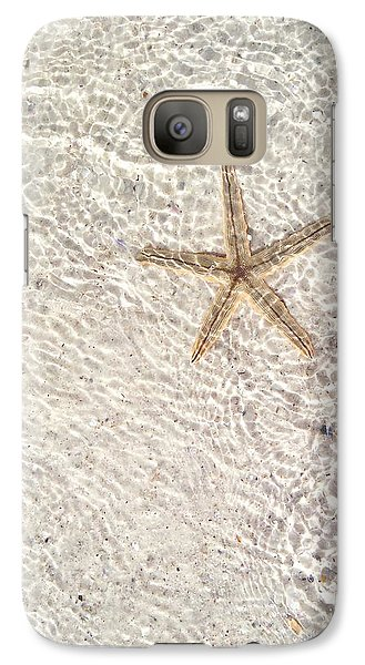 Galaxy Case featuring the photograph Anna Maria Island Starfish by Jean Marie Maggi