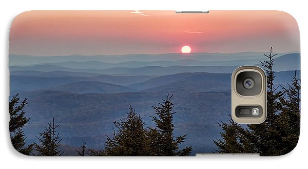 Galaxy Case featuring the photograph Sundown From Spruce Knob by Jaki Miller