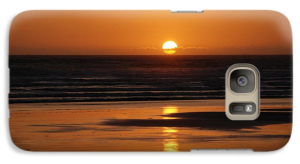 Galaxy Case featuring the photograph Sundown by Mark Alan Perry