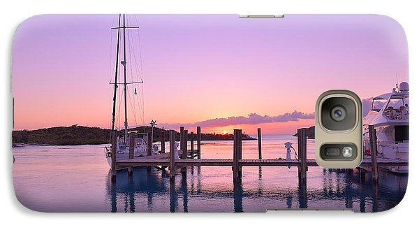 Galaxy Case featuring the photograph Sundown Serenity by Jola Martysz