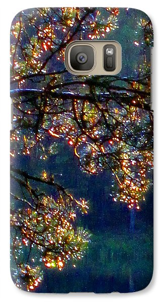 Galaxy Case featuring the photograph Sundrops by Leena Pekkalainen