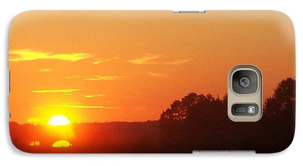 Galaxy Case featuring the photograph Sundown by Jasna Dragun