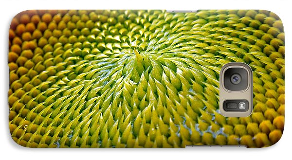 Sunflower  Galaxy Case by Christina Rollo