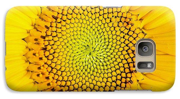 Sunflower  Galaxy Case by Edward Fielding