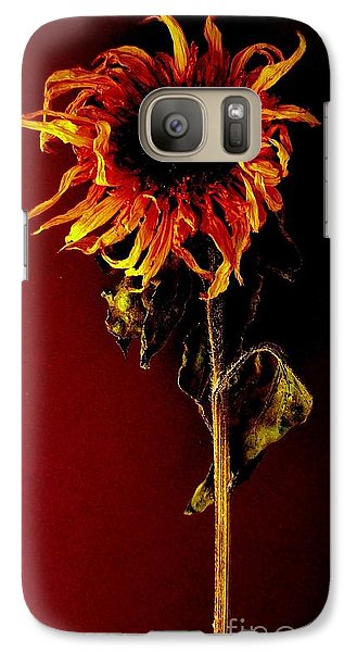 Galaxy Case featuring the photograph Sunflower by Fred Wilson