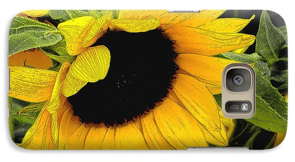 Galaxy Case featuring the photograph Sunflower by James C Thomas
