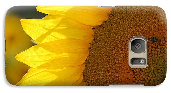Galaxy Case featuring the photograph Sunflower Joy by Ankya Klay