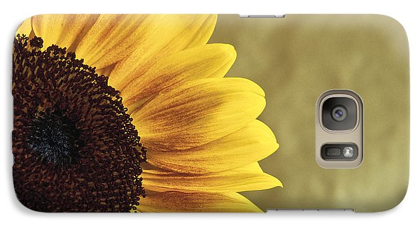 Galaxy Case featuring the photograph Sunflower by Lana Enderle