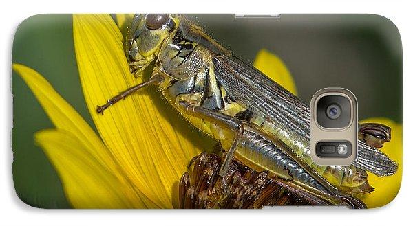 Sunflower Love Galaxy S7 Case by Ernie Echols