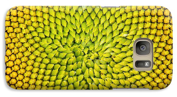 Sunflower Middle  Galaxy Case by Tim Gainey