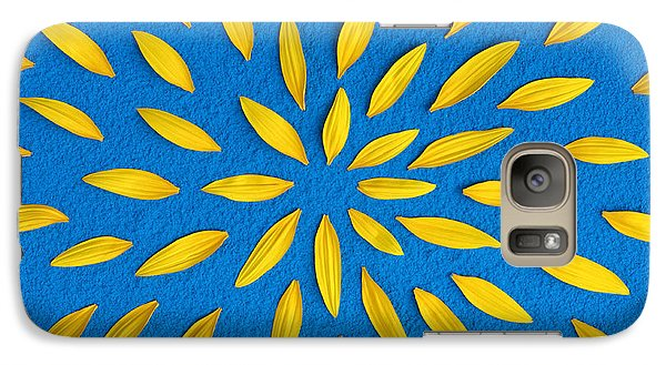 Sunflower Galaxy S7 Case - Sunflower Petals Pattern by Tim Gainey