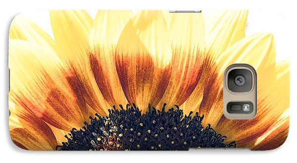 Galaxy Case featuring the photograph Sunflower Rising by Wade Brooks