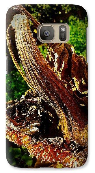 Galaxy Case featuring the photograph Sunflower Seedless 2 by James Aiken