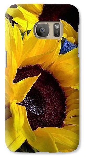 Galaxy Case featuring the photograph Sunflower Sunny Yellow In New Orleans Louisiana by Michael Hoard
