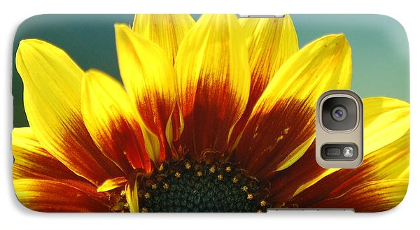 Galaxy Case featuring the photograph Sunflower by Tam Ryan