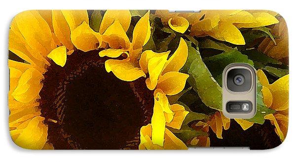 Sunflowers Galaxy S7 Case by Amy Vangsgard