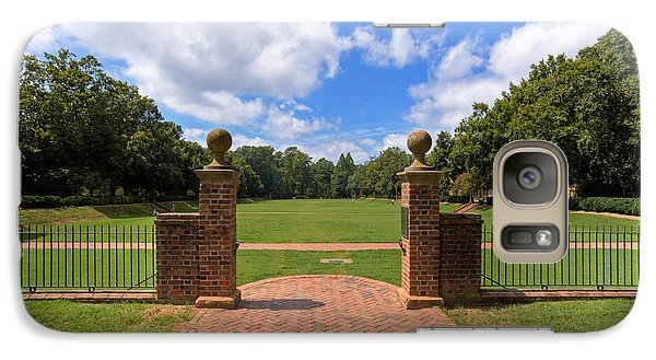 Galaxy Case featuring the photograph Sunken Garden At William And Mary by Jerry Gammon