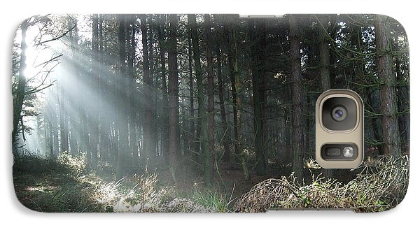 Galaxy Case featuring the photograph Sunlight On Cannock Chase by Jean Walker