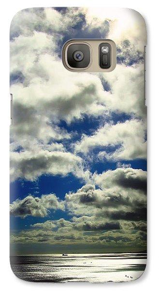 Galaxy Case featuring the photograph Sunlight Through The Clouds by Kara  Stewart
