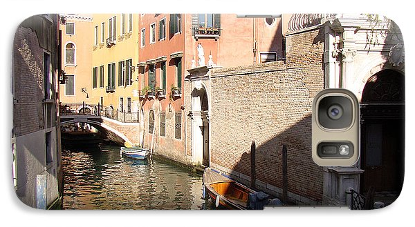 Galaxy Case featuring the photograph Venice Sunny Afternoon by Walter Fahmy