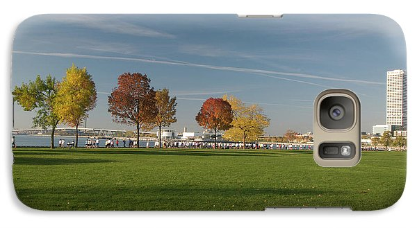 Galaxy Case featuring the photograph Sunny Autumn Day by Jonah  Anderson
