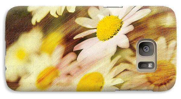 Galaxy Case featuring the photograph Sunny Daisies by Mary Timman