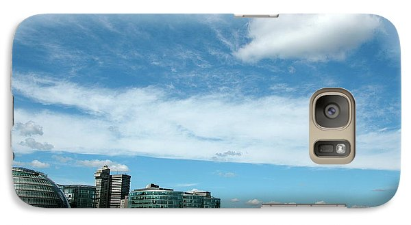 Galaxy Case featuring the photograph Sunny Day London by Jonah  Anderson