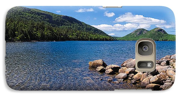 Galaxy Case featuring the photograph Sunny Day On Jordan Pond   by Lars Lentz
