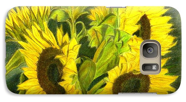 Galaxy Case featuring the drawing Sunny Days by Lori Ippolito