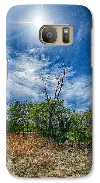 Galaxy Case featuring the photograph Sunny Days by Yvonne Emerson AKA RavenSoul