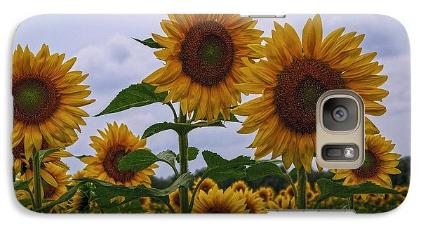 Galaxy Case featuring the photograph Sunny Faces by Debra Fedchin