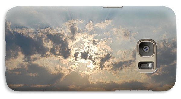 Galaxy Case featuring the photograph Sunrise 1 by George Katechis