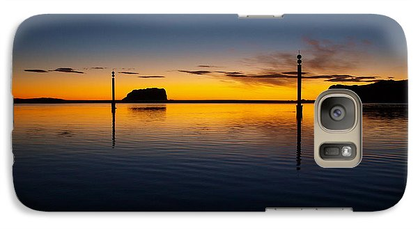 Galaxy Case featuring the photograph Sunrise And Calm by Trena Mara