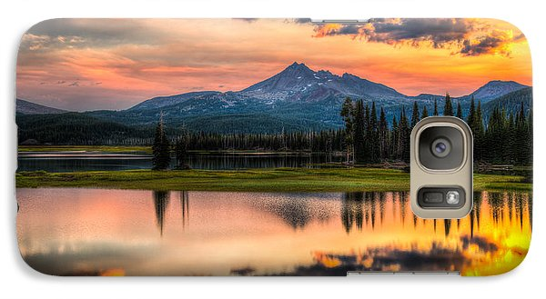 Galaxy Case featuring the photograph Sunrise At Brokentop by Chris McKenna