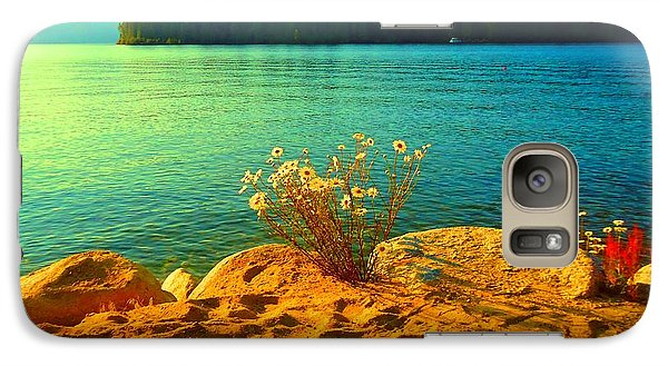 Galaxy Case featuring the photograph Sunrise At Daisy Lake by Ann Johndro-Collins