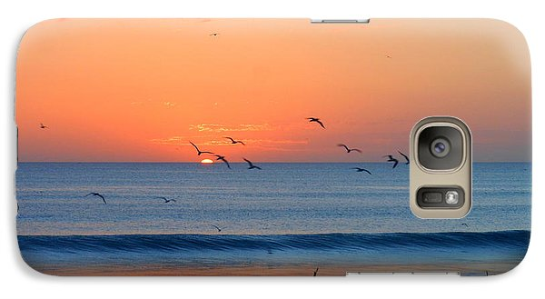 Galaxy Case featuring the photograph Sunrise At Indialantic by Kay Gilley
