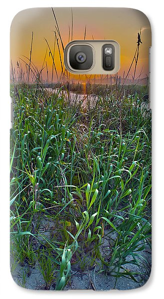Galaxy Case featuring the photograph Sunrise At Myrtle Beach by Alex Grichenko