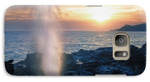 Galaxy Case featuring the photograph Sunrise At Nakalele by Hawaii  Fine Art Photography