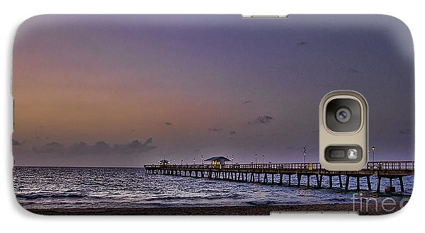 Galaxy Case featuring the photograph Sunrise At The Beach by Anne Rodkin